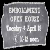 April Open House